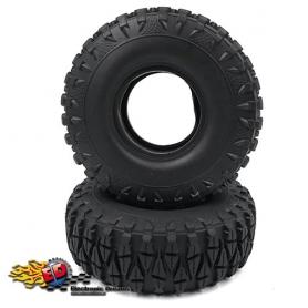 yeah racing gomme 1.9inch mescola morbida con inserti x scaler crawler (2) (diametro esterno 115)