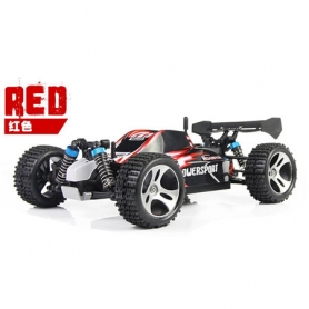 wl toys mini buggy rosso 1/18 4wd ep rtr lipo 1100mha 2.4 ghz 50kmh