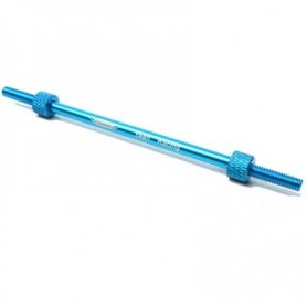 yeah racing portagomme in alluminio per 1/10 blu