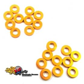 yeah racing spessori in m3 in alluminio 1.5 mm arancio (20)