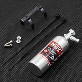yeah racing bombola nitro alluminio per bilanciamento modelli da drift 23gr in alluminio con supporto
