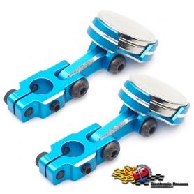 yeah racing supporti carrozzeria magnetici regolabili in ergal cnc blu(2)
