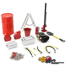 yeah racing kit accessori crawler scaler 15 pezzi