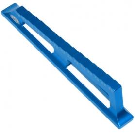 yeah racing scalimetro e blocchetti per droop con incrementi da 0.5mm (da -3.5 a 9.5mm) blu