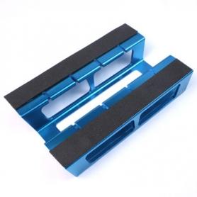 yeah racing supporto modello 1/10 in alluminio colore blu