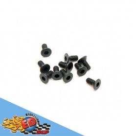 sworkz m2.0x4.6mm fh/st hex screw (1.5mm hex)(10pc)