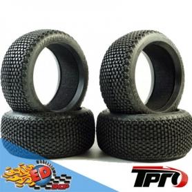 tpro harpoon soft t3 - treno gomme 1/8 off-road con inserti (4)