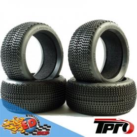tpro looper super soft t4 - treno gomme 1/8 off-road con inserti (4)