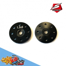 sworkz s35 series bbs system shock piston 1.3mmx8 straight holes (bk)