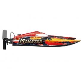 joysway monster catamarano brushless racing boat rtr