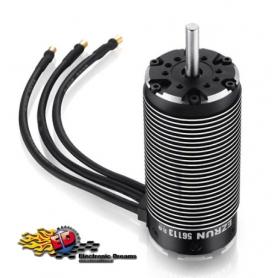 ezrun 56113sl 800kv sensorless motore brushless 4 poli 1/5 cablato con sensore di temperatura hw30402900