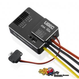 hobbywing ubec regolatore di voltaggio lipo hv alto voltaggio (3-18s) 25a. 6s 30606000