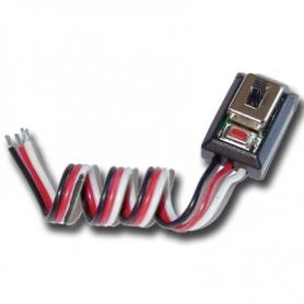 hobbywing interruttore per regolatori xerun 1/10con pulsante set - justock/120av2.1/quicrun-10bl60 sensored 30850003