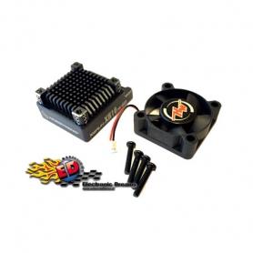 hobbywing optional top case x xr10 pro con ventola 30x30 e viti black