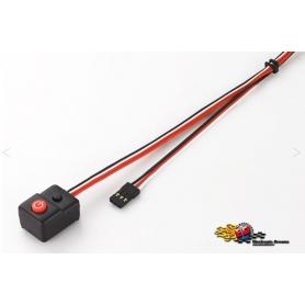 hobbywing interruttore per regolatori xr8sct - ezrun max 10sct - ezrun max10 - quicrun crawler brushed 30850008