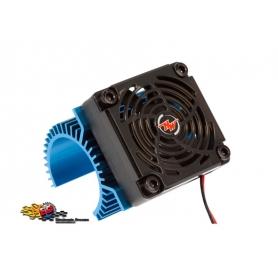 hobbywing dissipatore in alluminio con ventola per motori diametro 36mm con ventola 50x50x10 86080120