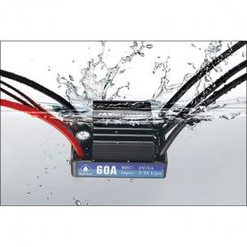 seaking v3.1 60a. regolatore elettronico waterproof con raffreddamento ad acqua 30302200