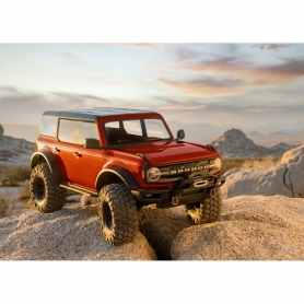 TRX-4 New Ford Bronco 2021 Scale & Trail Crawler - Rosso