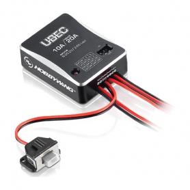 hobbywing bec regolatore di voltaggio lipo hv alto voltaggio 6v. 10a. 6s 30603000