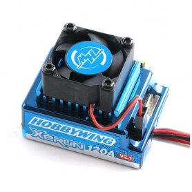 xerun v2.1 120a. regolatore brushless blue version x modelli 1/10 81020170