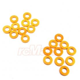Yeah racing spessori in m3 in alluminio 1 mm arancio (20)