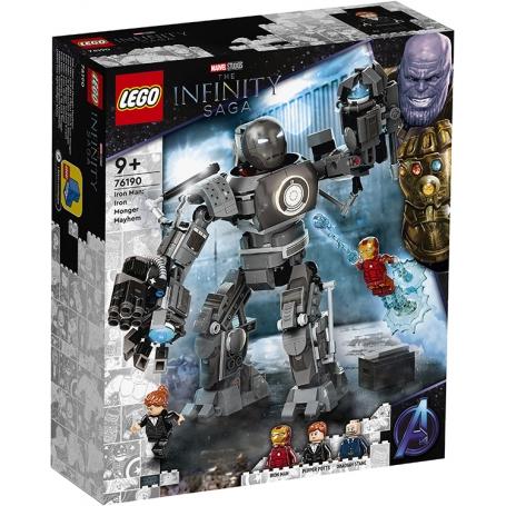 Super heroes marvel the infinity saga Iron man: iron monger scatena il caos