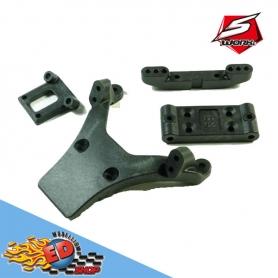 sworkz s12-2 front arm holder plastic parts 2.0