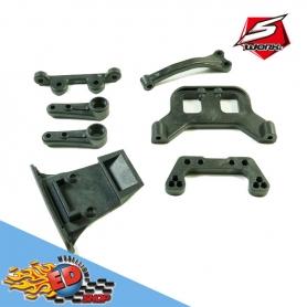 sworkz s12-2 servo saver and rear gear box parts