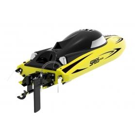 MOTOSCAFO Vector SR65 Brushed RTR Racing Boat Giallo