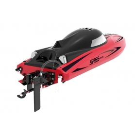 MOTOSCAFO Vector SR65 Brushed RTR Racing Boat (Red)