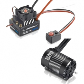 EZRUN COMBO MAX10 60A. + EZRUN-SL-3652-4000KV – 1/10 Off/On Road WATERPROOF 38010204