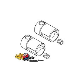 s-workz fox44 pinion output joints (2) steel