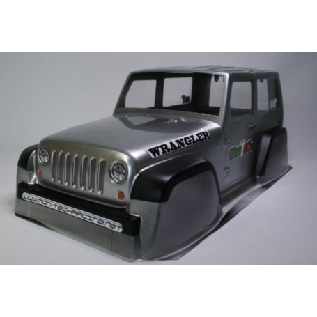 Carrozzeria Jeep Wrangler per scaler 1/10