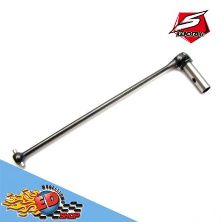 sworkz s35-t2/e series universal cross drive shaft set 136.5mm (1pc)