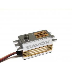 SAVOX SB2264MG Low Profile Digital Brushless Servo Aluminium Case 7,4V 15kg/0,085sec