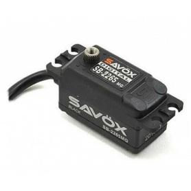SAVOX SB-2265MG High Voltage Low Profile Digital Brushless Servo Low Profile 7,4V 10kg/0,08sek