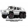 TRX-6 Mercedes-Benz G 63 AMG 6×6 Trail Crawler con Kit Luci-Bianco