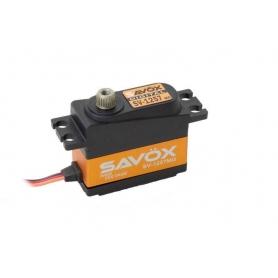SAVOX SV-1257MG Digital Servo High Voltage 7,4V 2BB, 4,0 Kg 7,4V, 0,055sec/60° 1/10 1/12 pan car