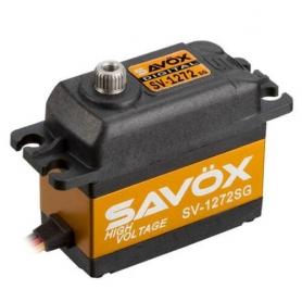 SAVOX SV-1272SG HV Digital Servo 30kg 0,10sec, 7,4V, 63gr