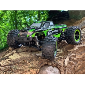 Blackzon Slayer MT 1/16 4WD Electric Truck Verde