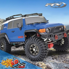 ftx outback geo blu 4x4 rtr scaler 1/10 rtr con luci