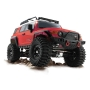 ftx outback geo rosso 4x4 rtr scaler 1/10 rtr con luci