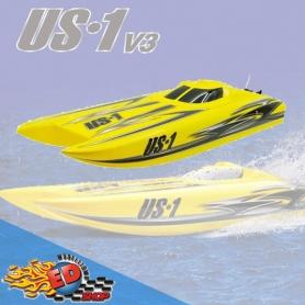 joysway us.1 v3 catamarano brushless racing boat 2.4ghz atr