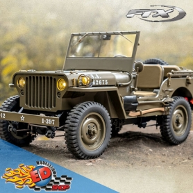 roc hobby 1941 willys 1/12 military scaler rtr