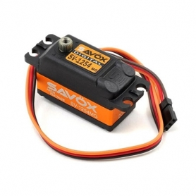 SAVOX SV-1254MG servo digitale-High Voltage-coreless-alu case-metal gear-low profile-2BB-15kg 0,085sec,62gr