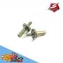 sworkz s12-2 aluminum steering hub axil(lr)(2pc)