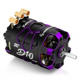 Hobbywing XERUN D10 13.5T Purple Motore Brushless Sensored DRIFT 30401139