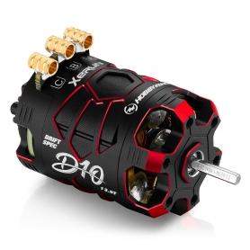 Hobbywing XERUN D10 13.5T Red Motore Brushless Sensored DRIFT 30401138