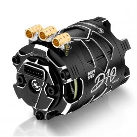 Hobbywing XERUN D10 13.5T Black Motore Brushless Sensored DRIFT 30401137