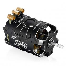 Hobbywing XERUN D10 10.5T Black Motore Brushless Sensored DRIFT 30401134